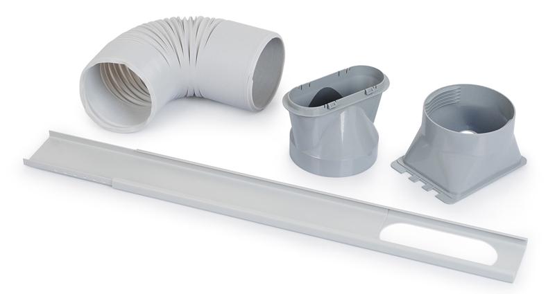 accesorios para la instalación de un aire acondicionado portátil