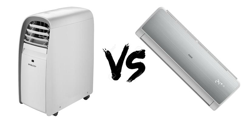 Comparacion split portatil