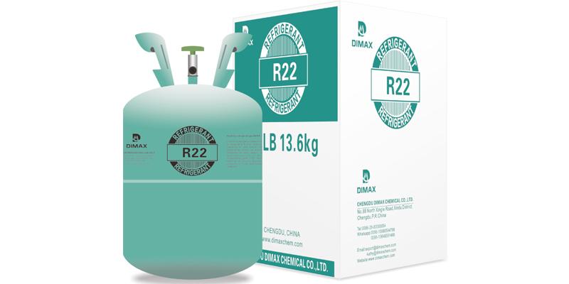 gas refrigerante listo