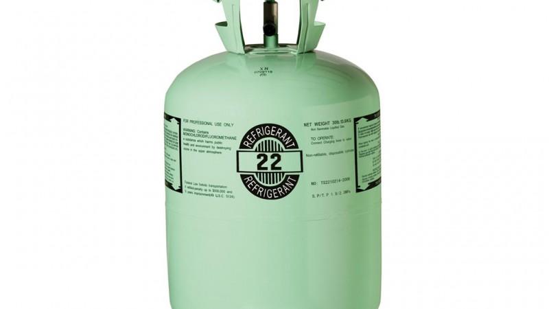 refrigerante de gas