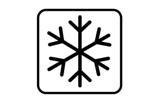 Símbolo de refrigeración